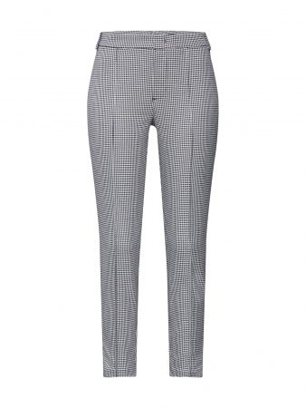 SET Pantaloni eleganți  negru / alb