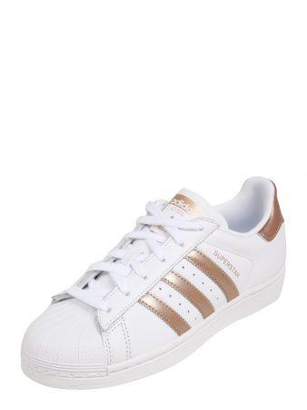 ADIDAS ORIGINALS Sneaker low 'Superstar'  auriu - roz / alb