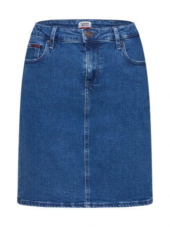 Tommy Jeans Fustă 'TJW CLASSIC DENIM SKIRT OCTDK' denim albastru