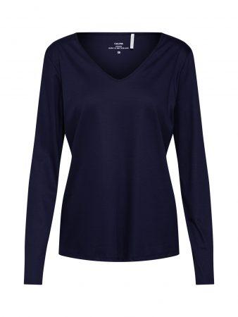 CALIDA Bluză de noapte 'Favourites Trend 5'  albastru închis