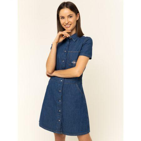 Rochie de blugi Calvin Klein Jeans