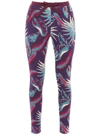 PALMERS Pantaloni de pijama 'Flowery Autumn'  culori mixte