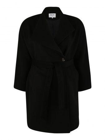 ABOUT YOU Curvy Palton de primăvară-toamnă 'Charis Coat'  negru