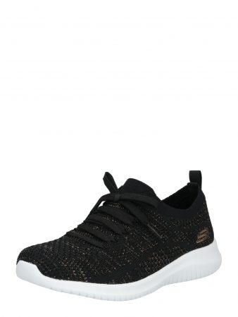 SKECHERS Sneaker low 'ULTRA FLEX - SALUTATIONS' auriu / negru