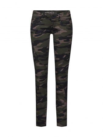 Gang Jeans 'NENA BIKER QUILTED'  oliv