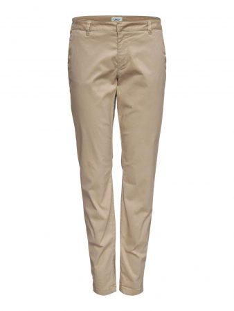 ONLY Pantaloni eleganți  nisip