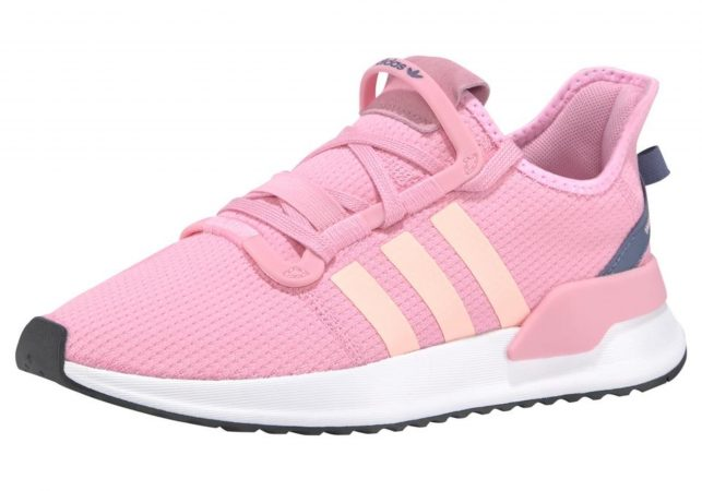 ADIDAS ORIGINALS Sneaker low 'U_Path Run W' albastru / portocaliu / roz