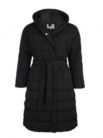 ABOUT YOU Curvy Palton de iarnă 'Chadia'  negru