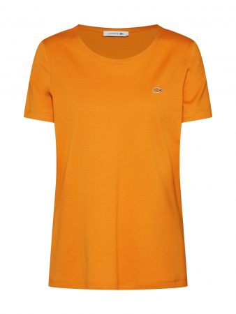 LACOSTE Tricou portocaliu