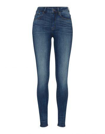 G-Star RAW Jeans '3301 High Skinny'  denim albastru