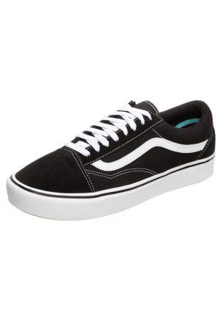 VANS Sneaker low 'ComfyCush Old Skool'  alb / negru
