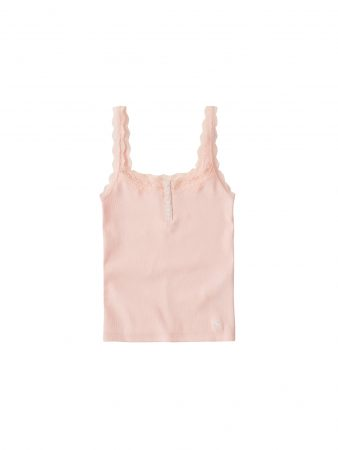 Abercrombie & Fitch Top 'MOOSE LACE CAMI'  roz vechi