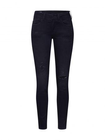 G-Star RAW Jeans 'Lynn Mid Skinny'  denim negru