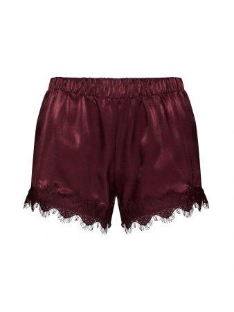 VILA Pantaloni de pijama 'VISEIA'  roșu vin