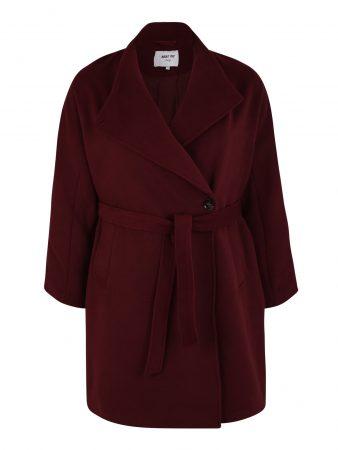 ABOUT YOU Curvy Palton de primăvară-toamnă 'Charis Coat'  burgund