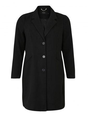 Vero Moda Curve Palton de primăvară-toamnă 'CALA CINDY'  negru