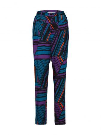 POSTYR Pantaloni largi 'MARY' culori mixte