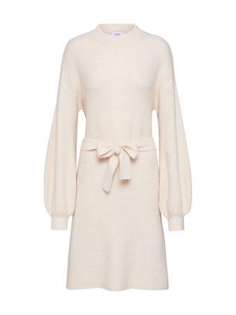 NA-KD Rochie tricotat  alb lână