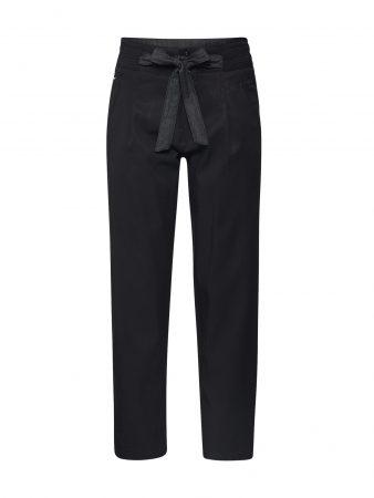 G-Star RAW Pantaloni eleganți 'Chisel mid bf ankle chino wmn'  negru
