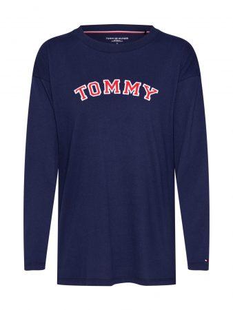 Tommy Hilfiger Underwear Bluză de noapte 'CN TEE LS'  albastru închis