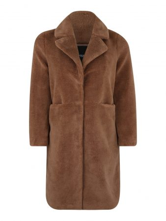 Vero Moda Curve Palton de primăvară-toamnă 'HOLLY LONG'  maro