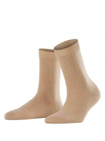 FALKE Șosete 'Cosy Wool'  maro cămilă