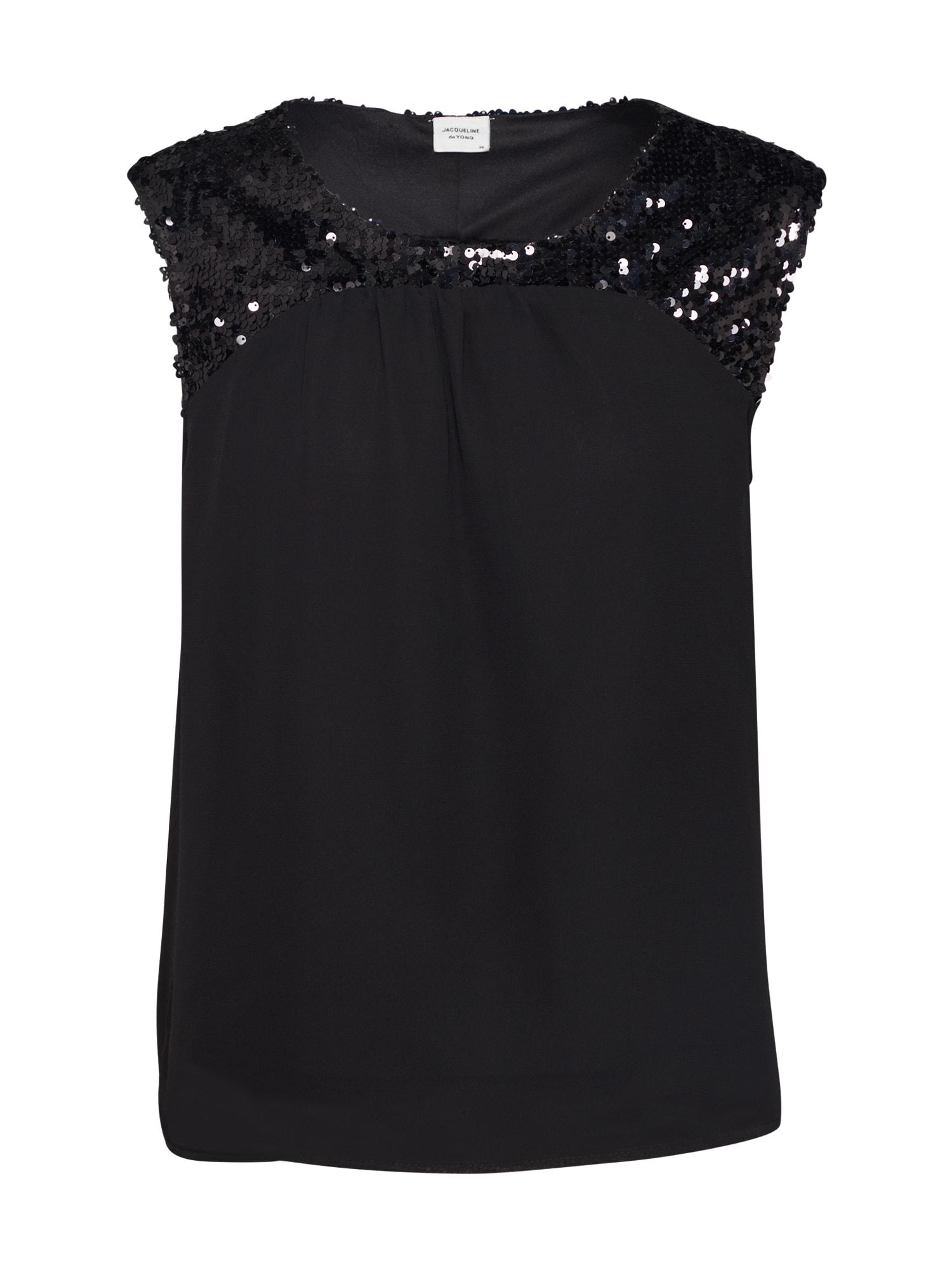 JACQUELINE De YONG Bluză negru