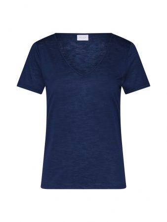 VILA Tricou  albastru închis