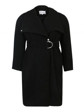 ABOUT YOU Curvy Palton de primăvară-toamnă 'Alma'  negru