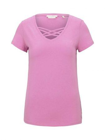 TOM TAILOR DENIM Tricou  roz