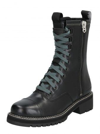 G-Star RAW Cizme 'Minor Zip Boot'  negru