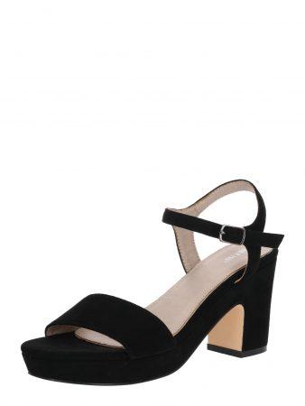 ABOUT YOU Sandale cu beretă 'Elea' negru