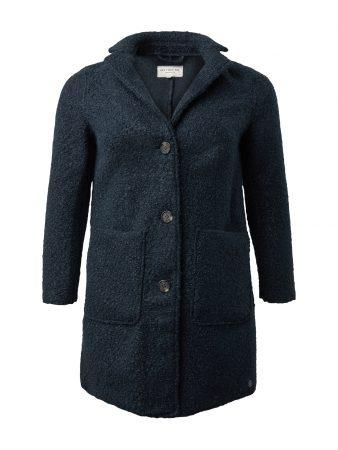 MY TRUE ME Palton de primăvară-toamnă  albastru amestec