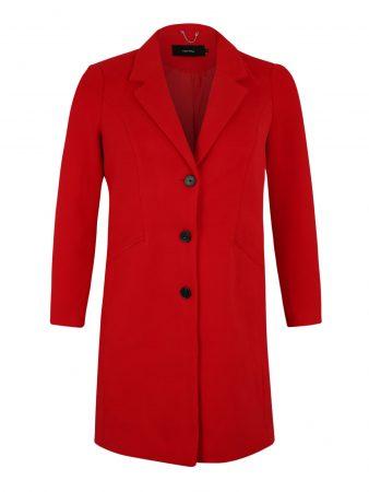 Vero Moda Curve Palton de primăvară-toamnă 'CALA CINDY'  roșu