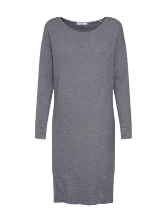 EDC BY ESPRIT Rochie tricotat 'OCS Dress'  gri argintiu / gri deschis