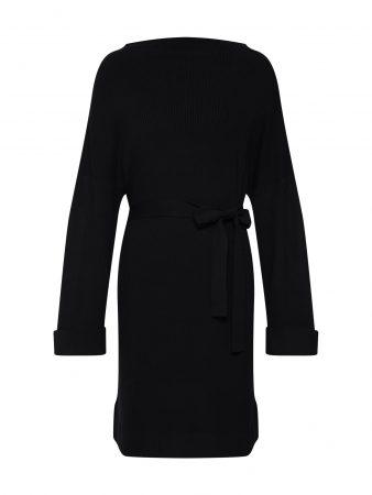 EDITED Rochie tricotat 'Nata'  negru