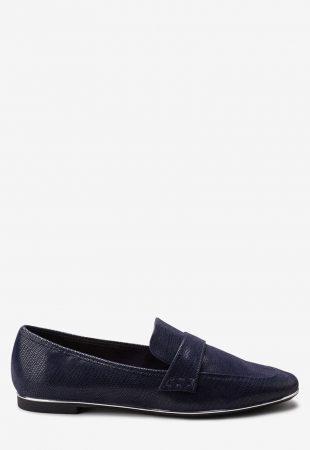 Pantofi loafer cu detaliu metalic