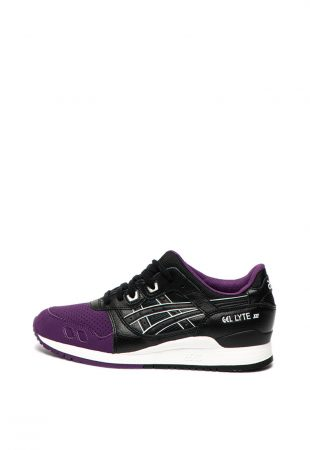 Pantofi sport unisex cu insertii de piele peliculizata Gel Lyte III