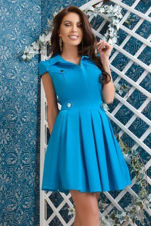 Rochie scurta albastra Rn 2416